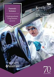 Forensic Science Undergraduate Programmes 2020