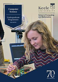 Computer Science Undergraduate Programmes 2020 Entry