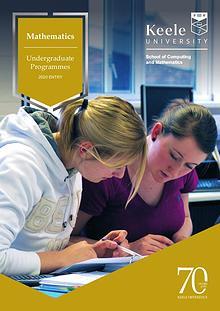 Keele University Mathematics Undergraduate Programmes 2020