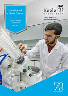 Chemistry and Medicinal Chemistry Undergraduate Programmes 2020