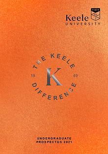 Keele Undergraduate Prospectus 2021