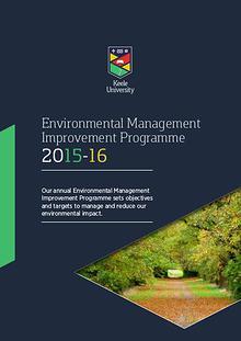Environmental Management Improvement Programme 2015-2016