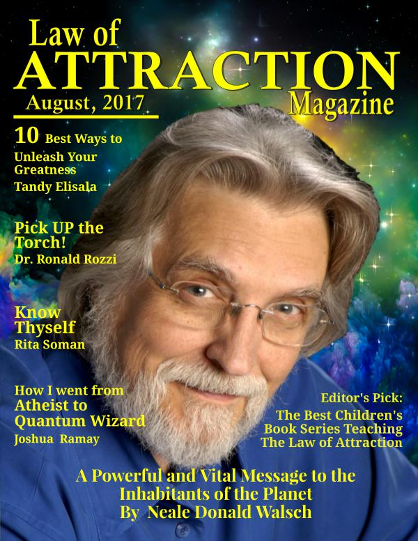 The Science Behind the Law of Attraction Magazine August Issue 2017