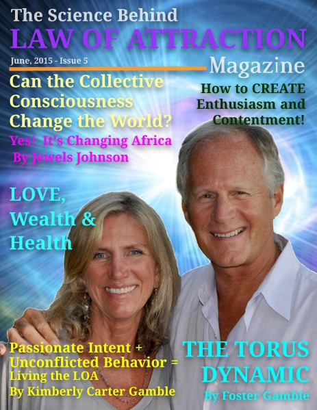Law of Attraction Magazine June, 2015