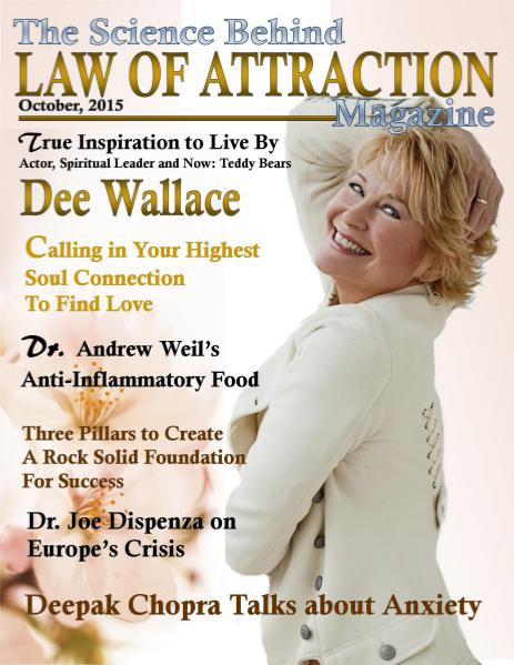 Law of Attraction Magazine October, 2015