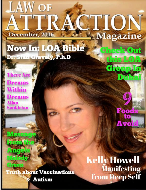 The Science Behind the Law of Attraction Magazine December, 2016