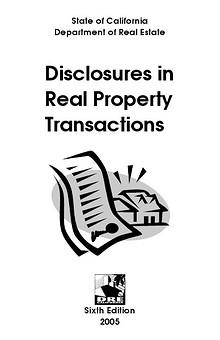 California real estate disclosure laws