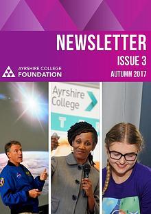 Ayrshire College Foundation Newsletter