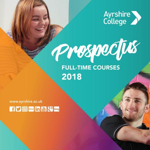 Ayrshire College Prospectus 2018
