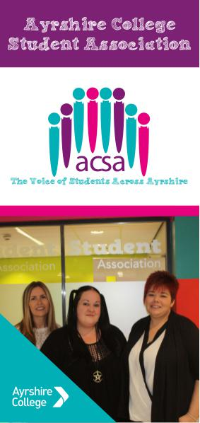 Ayrshire College Student Association All About ACSA