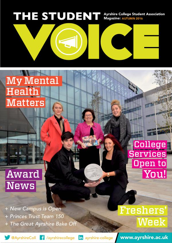 STUDENT VOICE AUTUMN 2016