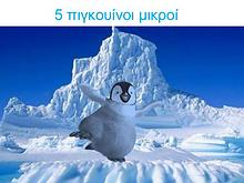 5 πιγκουίνοι