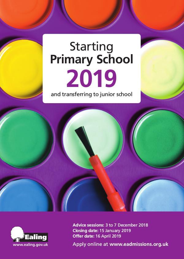 Primary School Prospectus Admissions