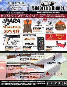Boxing Week 2016