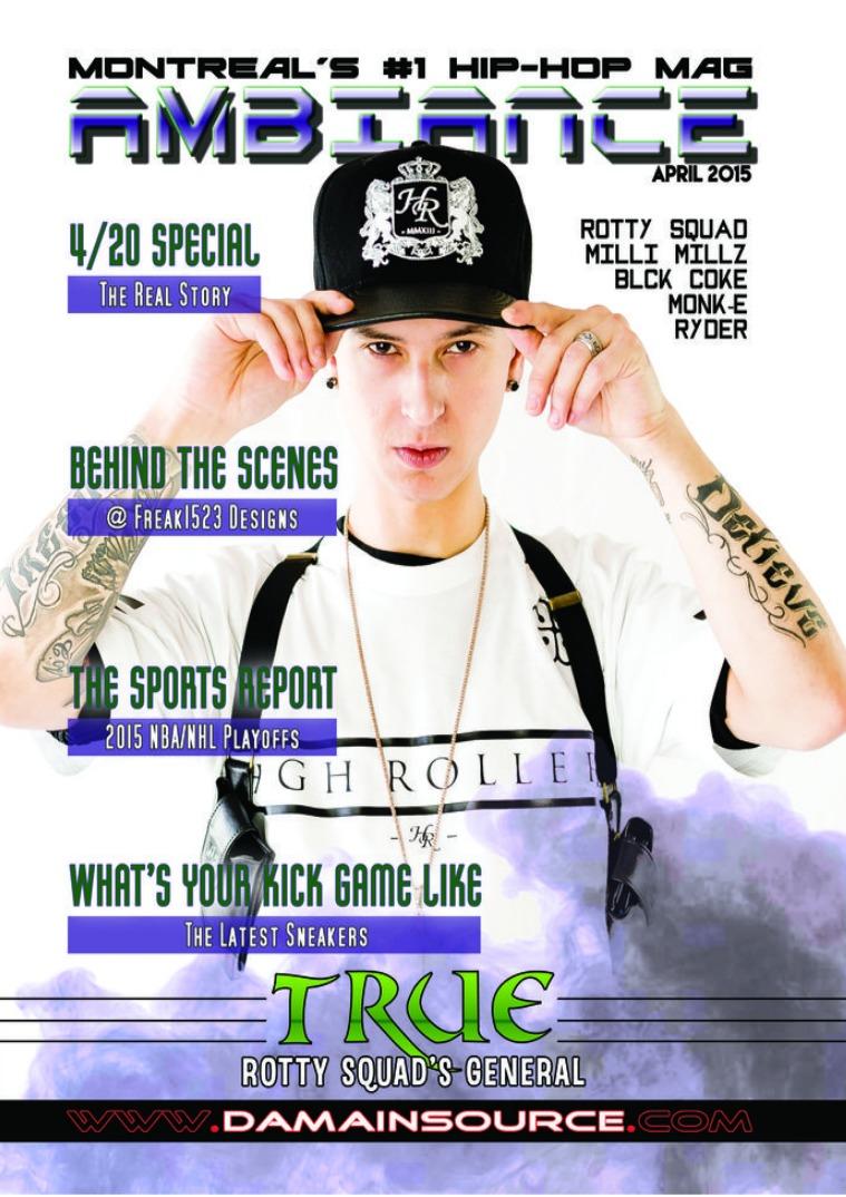 Ambiance Magazine (April 2015)