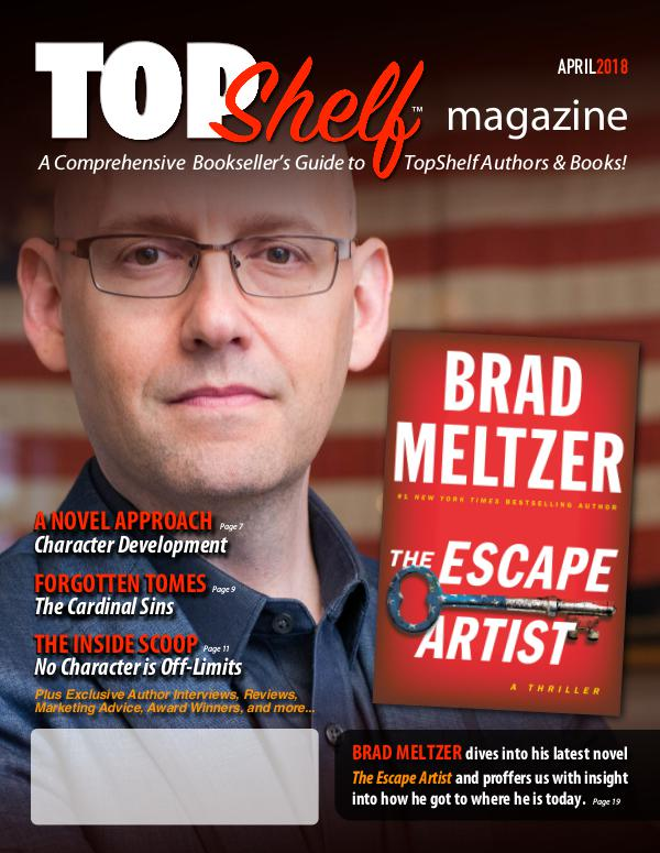 TopShelf Magazine April 2018
