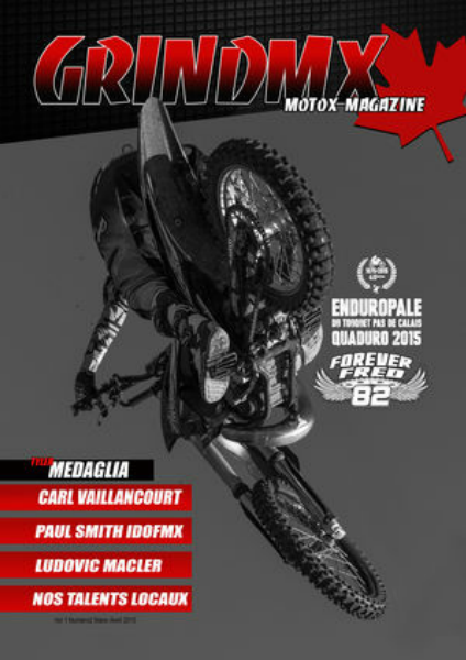 Grind Mx Canada Grind mx Vol1 number 2 2015