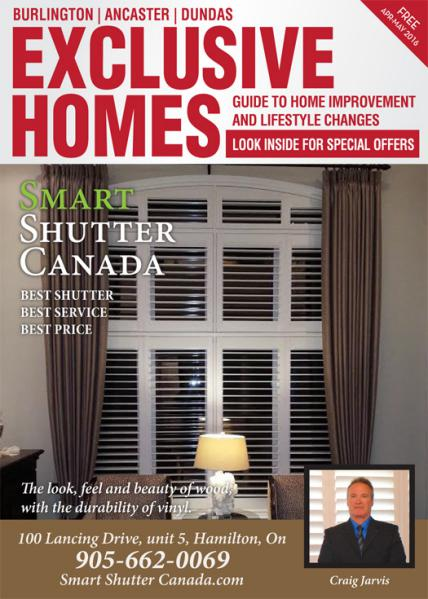 Exclusive Homes Magazine - Burlington April - May 2016