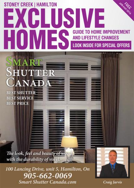 Exclusive Homes Magazine- Stoney Creek April - May 2016