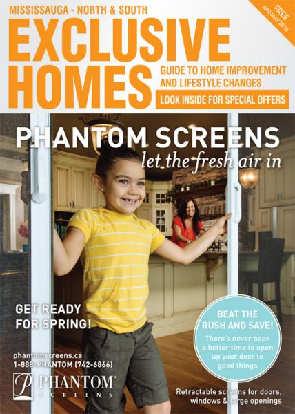 Exclusive Homes Magazine- Mississauga April - May 2016