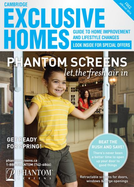 Exclusive Homes Magazine- Cambridge April - May 2016