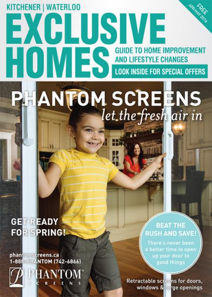 Exclusive Homes Magazine- Kitchener April - May 2016