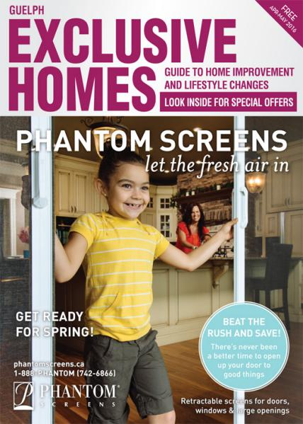 Exclusive Homes Magazine- Guelph April - May 2016