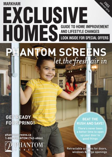 Exclusive Homes Magazine- Markham April - May 2016