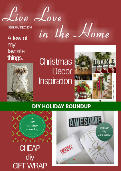 Live Love in the Home December 2014