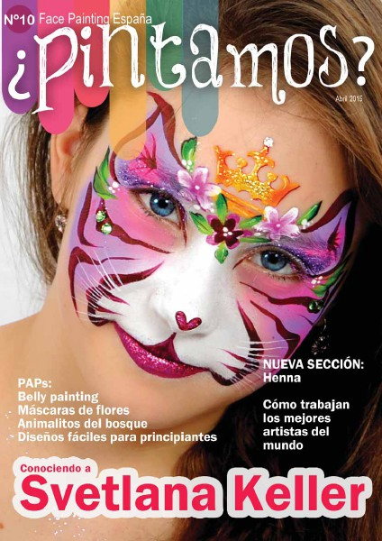 ¿PINTAMOS? Face & Body Painting España Nº 10 Abril 2015