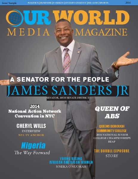 Our World Media Magazine Issue 1 (2014)