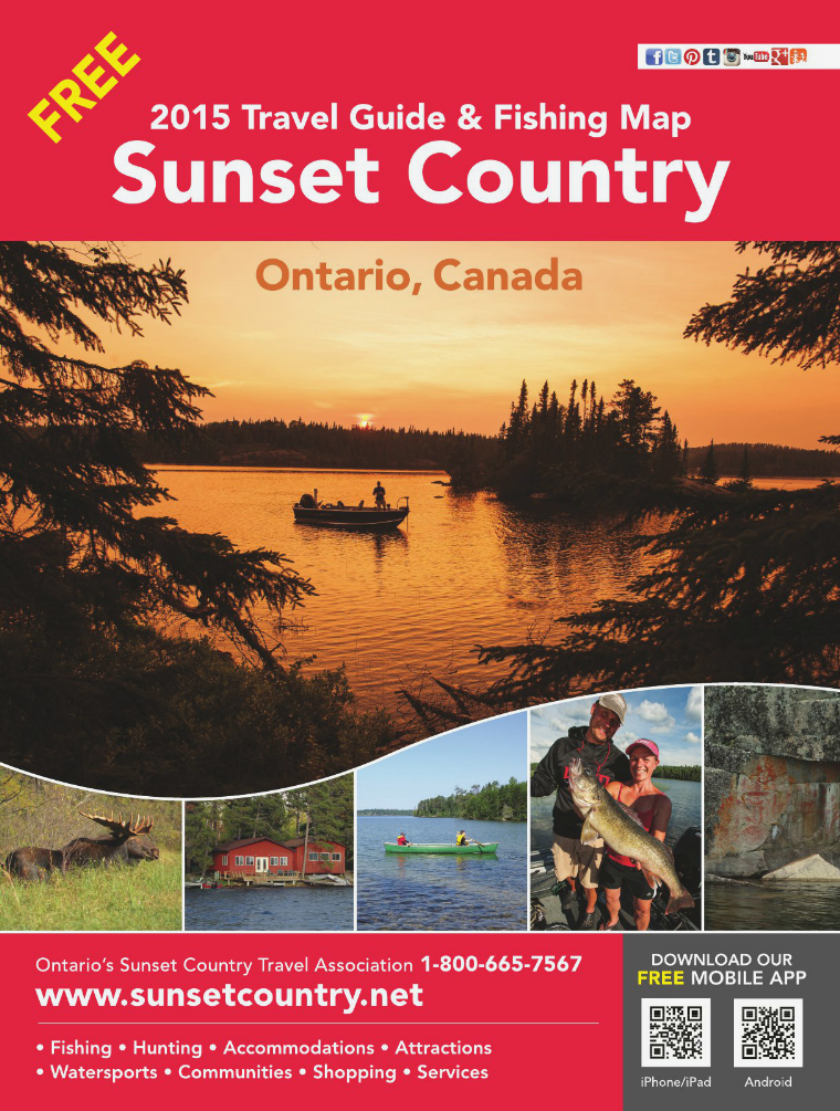 2015 Ontario's Sunset Country Travel Guide 2015