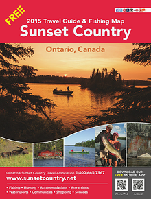 2015 Ontario's Sunset Country Travel Guide