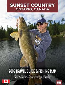 2016 Ontario Sunset Country Travel Guide