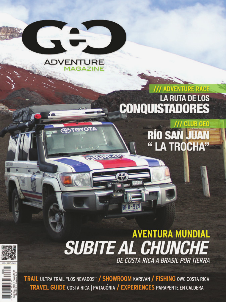 GEO Adventure Magazine Dec. 2014