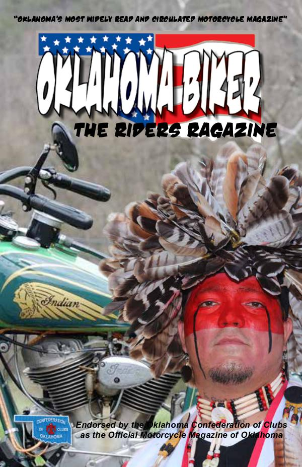 Oklahoma Biker - The Riders Ragazine Sept - Oct 2017