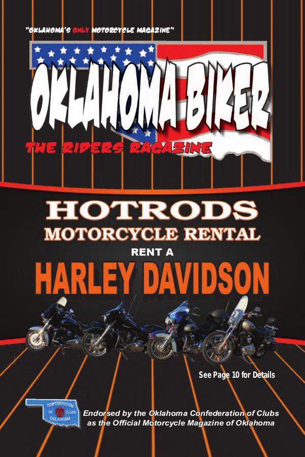 Oklahoma Biker - The Riders Ragazine May - June 2018