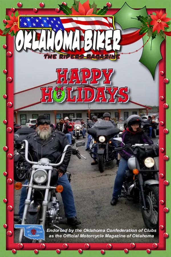 Oklahoma Biker - The Riders Ragazine November - December 2018