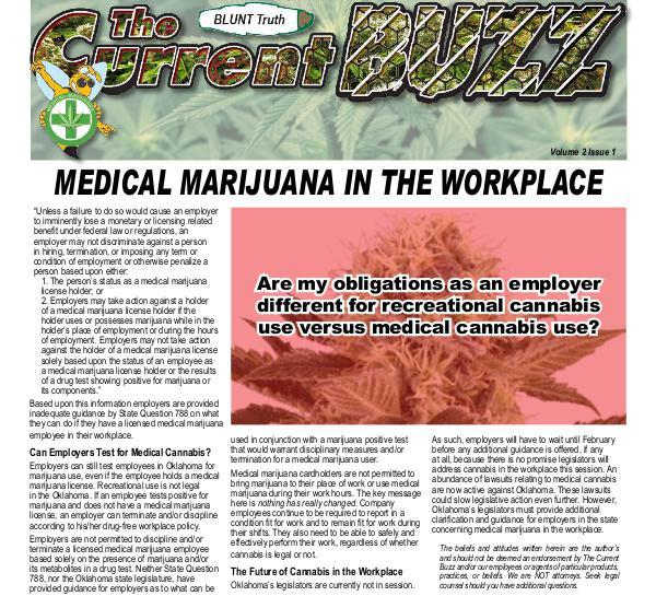 The Current Buzz Newspaper Jan 2019