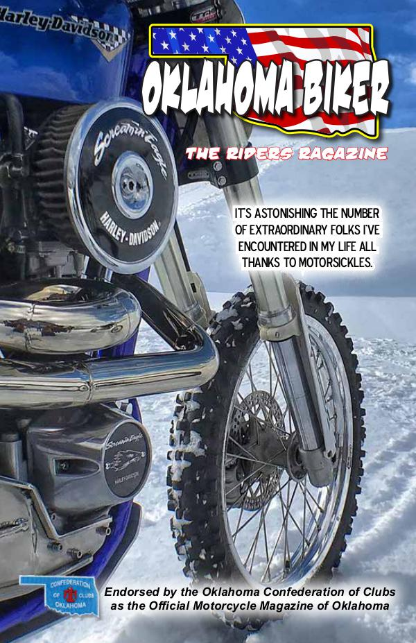 Oklahoma Biker - The Riders Ragazine Jan-Feb 2019