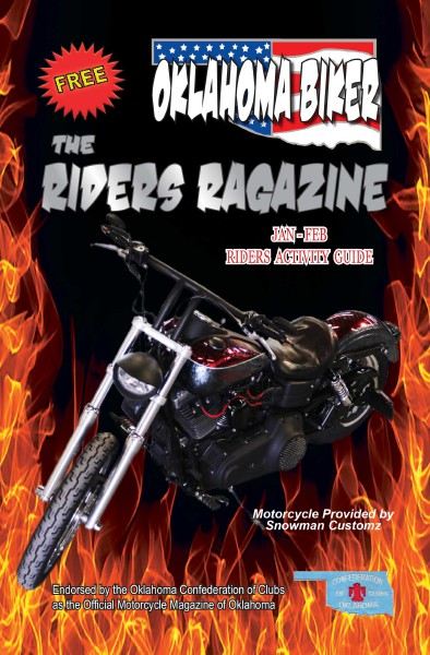 Oklahoma Biker - The Riders Ragazine Jan - Feb 2015