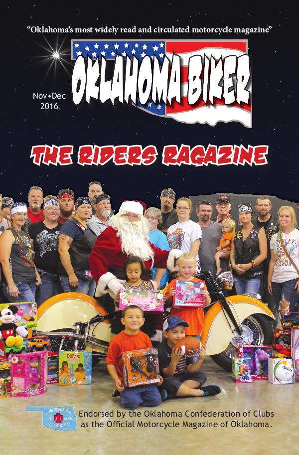 Oklahoma Biker - The Riders Ragazine Nov - Dec 2016