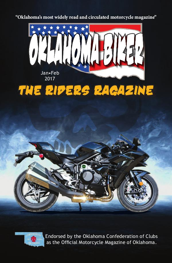 Oklahoma Biker - The Riders Ragazine Jan - Feb 2017