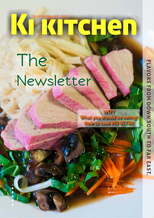 Ki Kitchen: The Newsletter