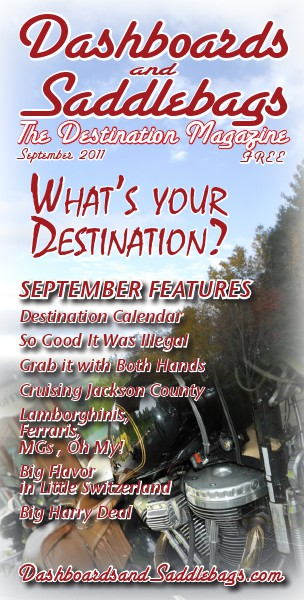 Dashboards and Saddlebags the Destination Magazine™ Issue 006 September 2011