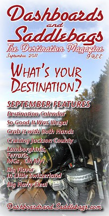 Dashboards and Saddlebags the Destination Magazine™