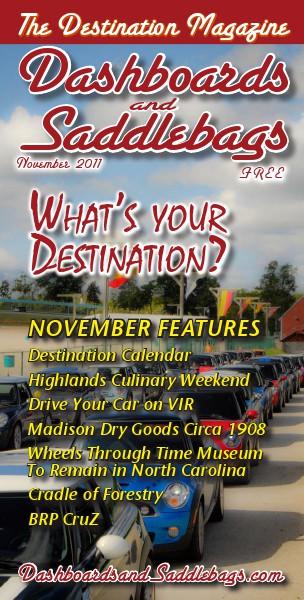 Dashboards and Saddlebags the Destination Magazine™ Issue 008 November 2011