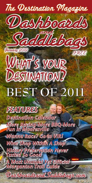 Dashboards and Saddlebags the Destination Magazine™ Issue 010 January 2012