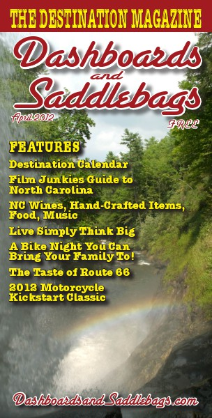 Dashboards and Saddlebags the Destination Magazine™ Issue 013 April 2012