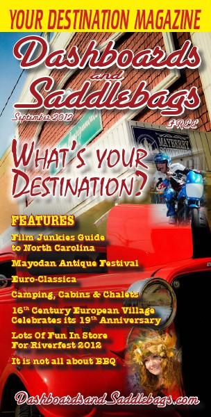 Dashboards and Saddlebags the Destination Magazine™ Issue 018 September 2012
